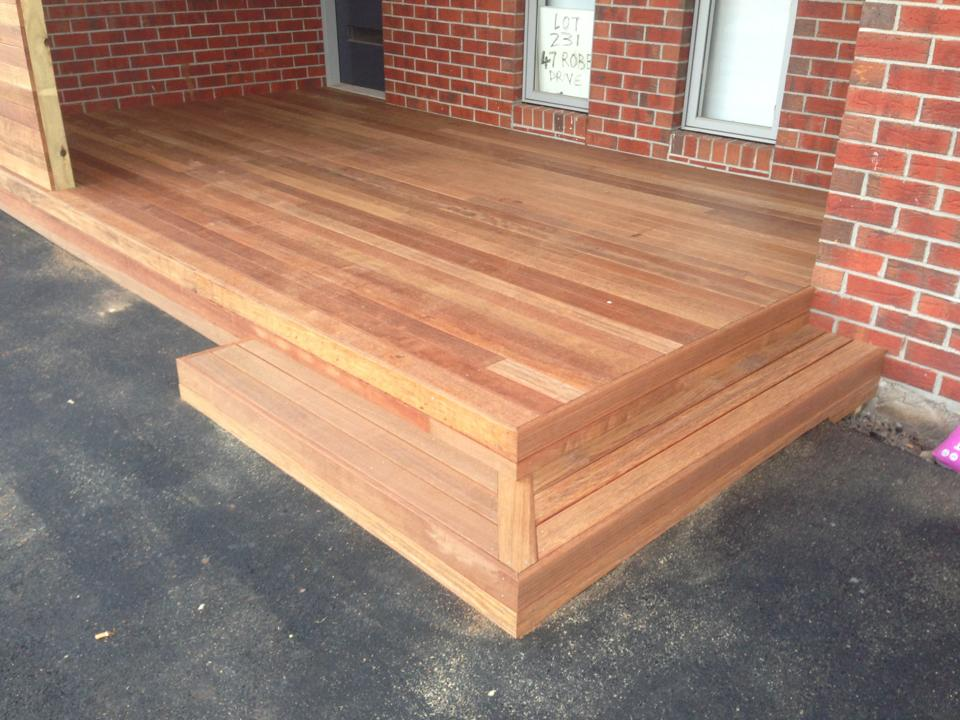Decking Timber Selection